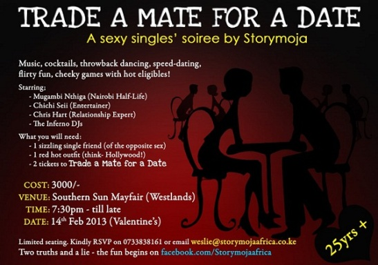 Trade a Mate for a Date