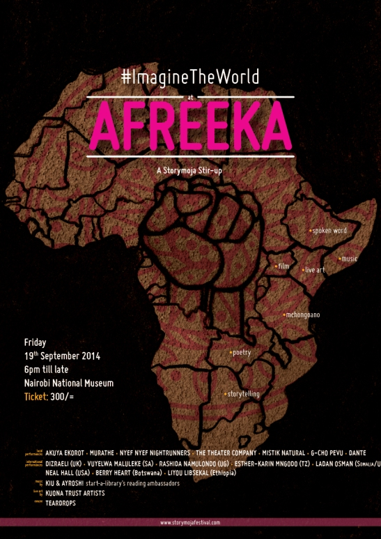 Afreeka poster