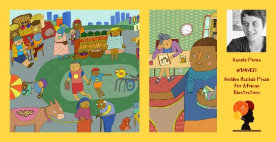Xanele Poster Golden Baobab Prizes